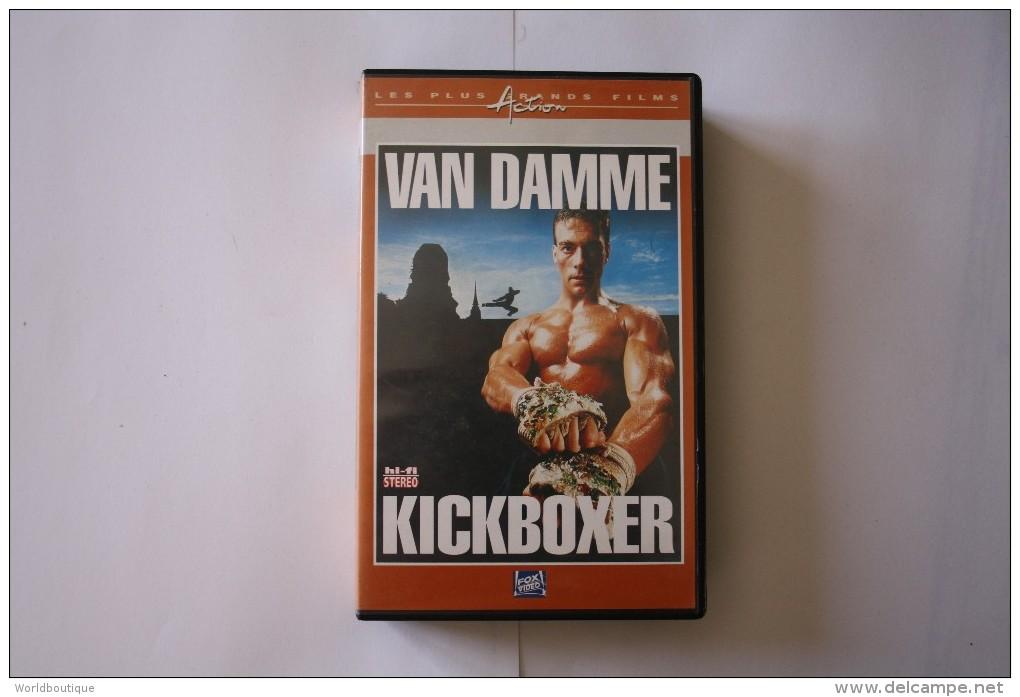 Cassette Video KICKBOXER - Action, Aventure