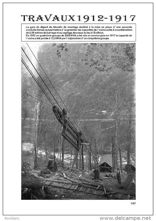 Ariège, Ax Les Thermes-Orlu-Naguilles. Histoire D´un Barrage 1903-1958. - History