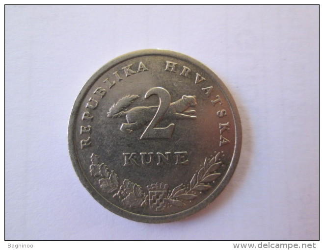 CROATIA 2 Kune 1995 FAO FIAT PANIS  50 Years Anniversary 1945 - 1995  # 4 - Croatia