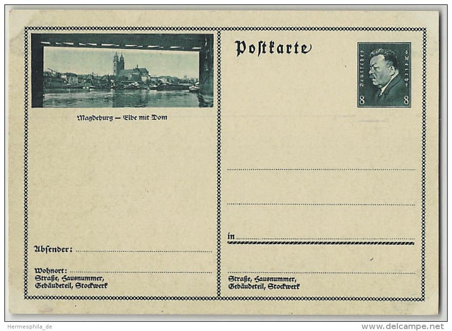 DR, BILDPOSTKARTE, P 192 / 19, Bockisch 25-019, MAGDEBURG, HELL, GANZSACHE POSTAL STATIONERY, Ungebraucht - Deutschland
