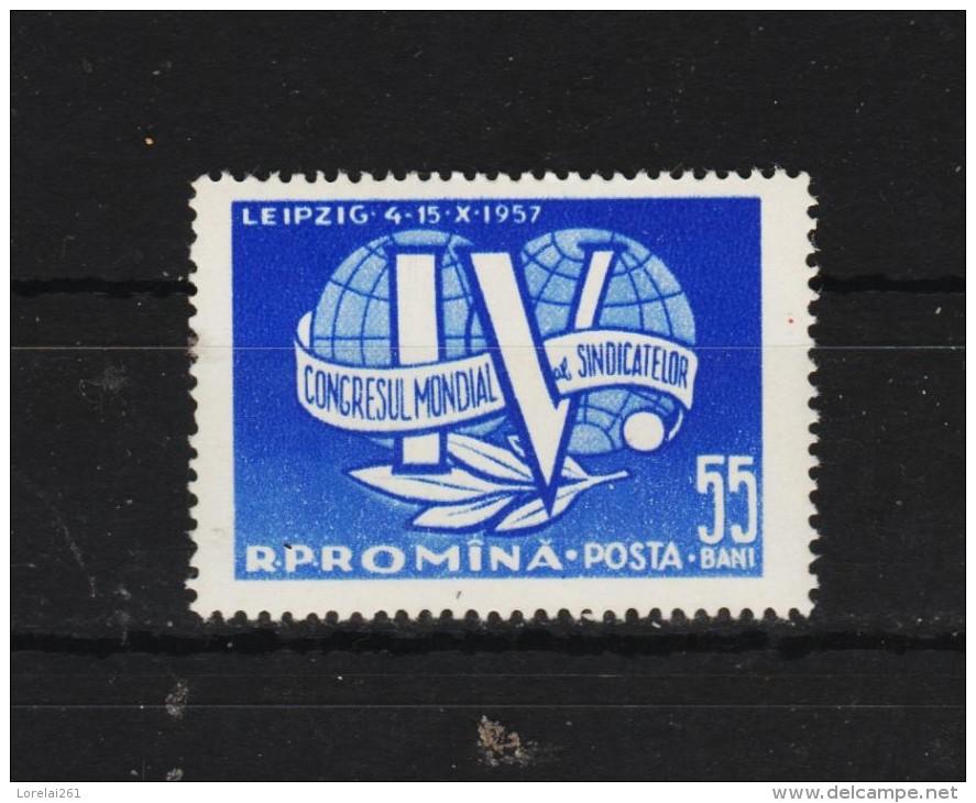 1957 -   Congres Des Syndicats Ouvriers Mi No 1670 Et Yv No 1540 MNH - Ungebraucht