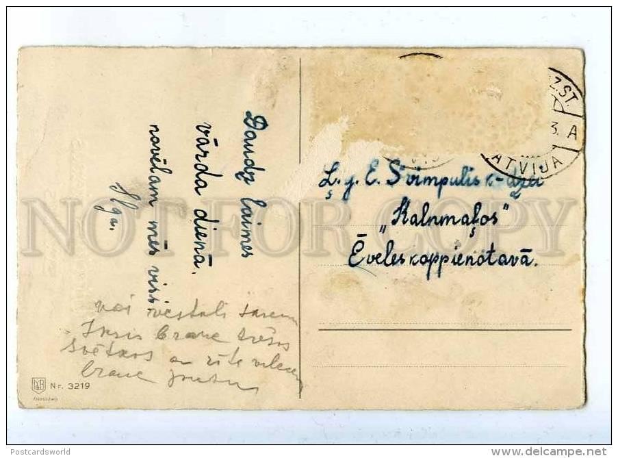 202964 Green SANTA CLAUS By F.B. Fritz BAUMGARTEN Old M&B PC - Baumgarten, F.