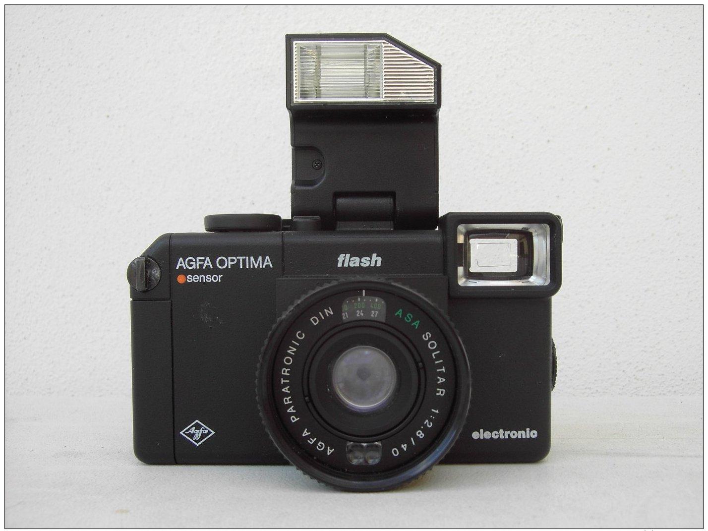 AGFA OPTIMA FLASH SENSOR - Cameras
