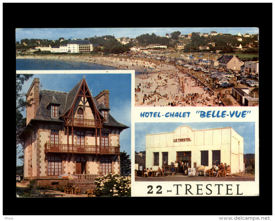 22 - TRESTEL - Carte Pub - France