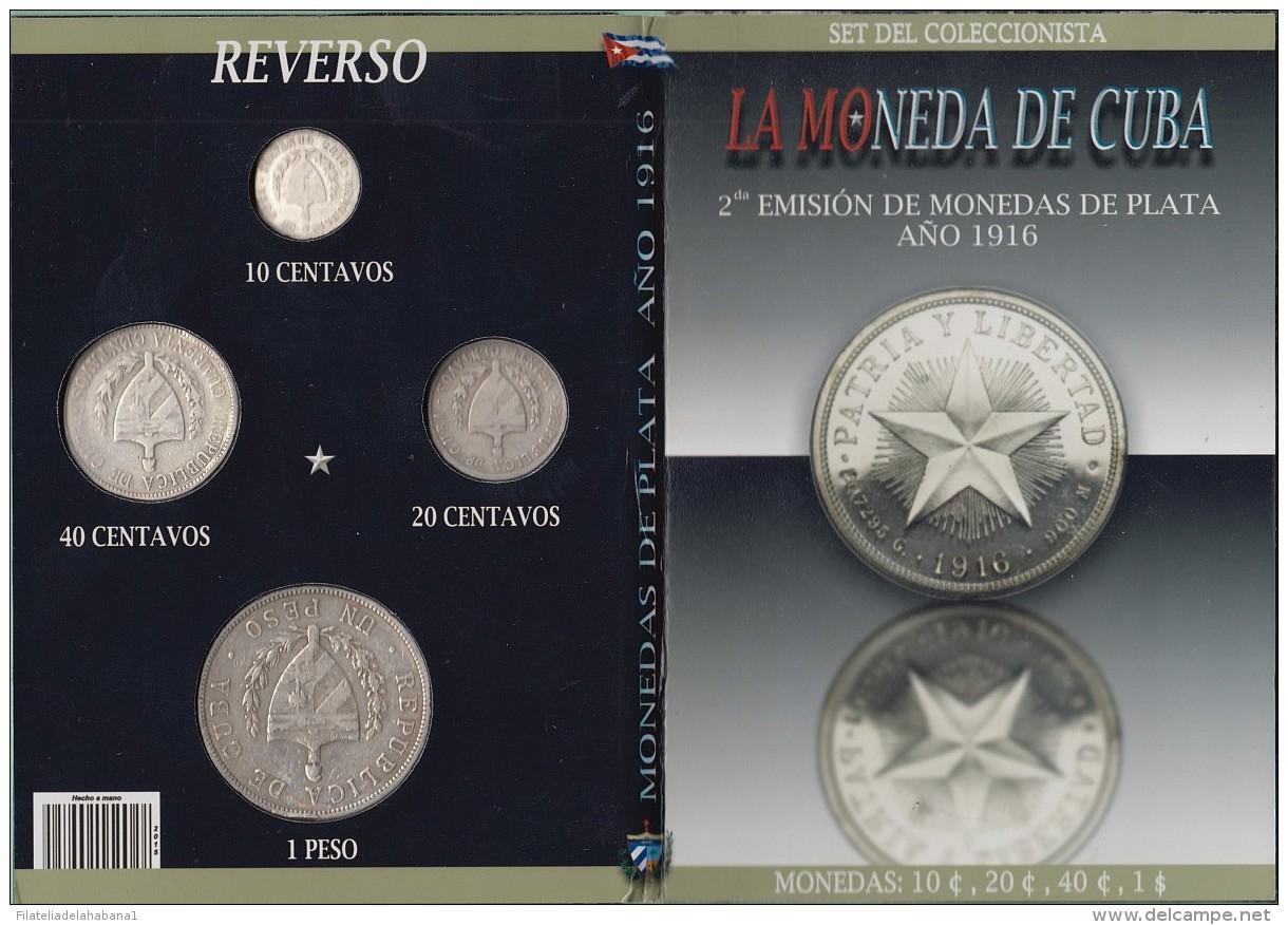 BK-SET-103 ANTILLES CARIBBEAN SPECIAL BOOK SILVER 1916 COMPLETE SET 10c-1$. STAR - Cuba