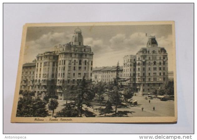 ITALIA REGNO 1937 - COLONIE ESTIVE CENT 20 SU CARTOLINA  DA MILANO A ANDRIA - 1900-44 Vittorio Emanuele III