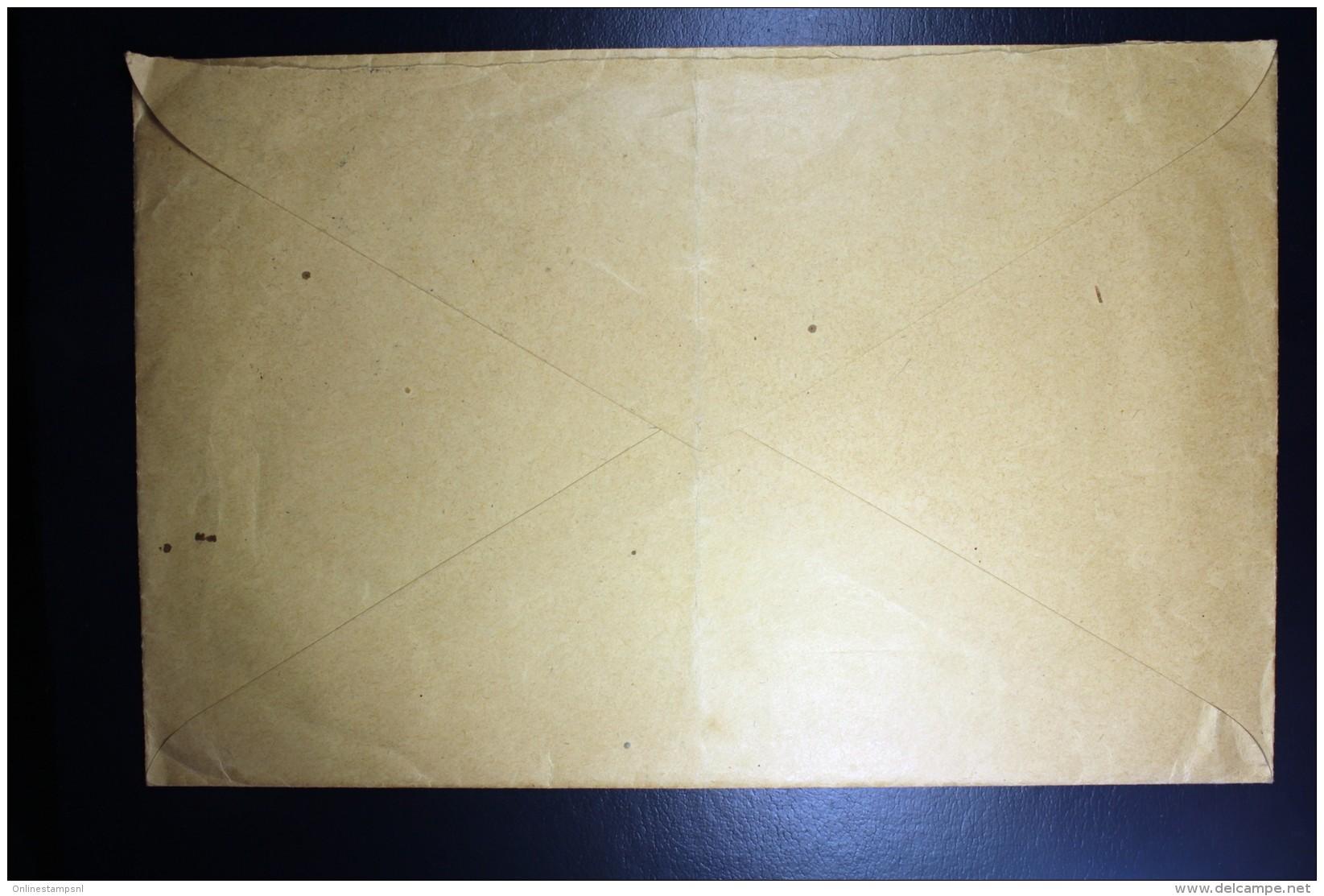 Nederland  Enveloppe 1941 Centraal Kantoor Opvoeding Idioten En Achterlijke Kinderen NVPH 359 - Periode 1891-1948 (Wilhelmina)