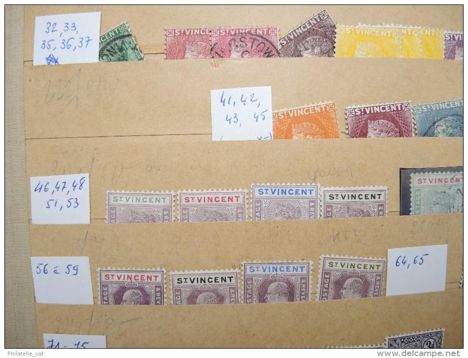 ST VINCENT - Stock Marchand Avec Bonnes Valeurs - Cote Importante Et Petit Prix - A Voir - P20638 - St.Vincent (...-1979)