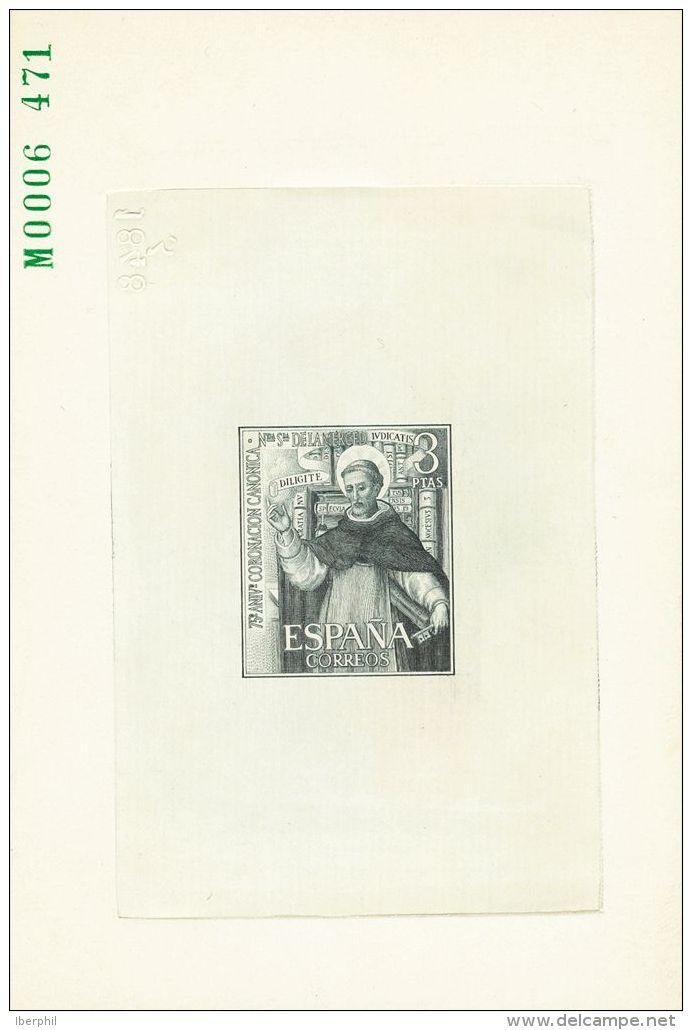 2º CENTENARIO. 3 Pts Gris Verdoso. PRUEBA DE PUNZON. MAGNIFICA Y RARISIMA. - 1931-Today: 2nd Rep - ... Juan Carlos I