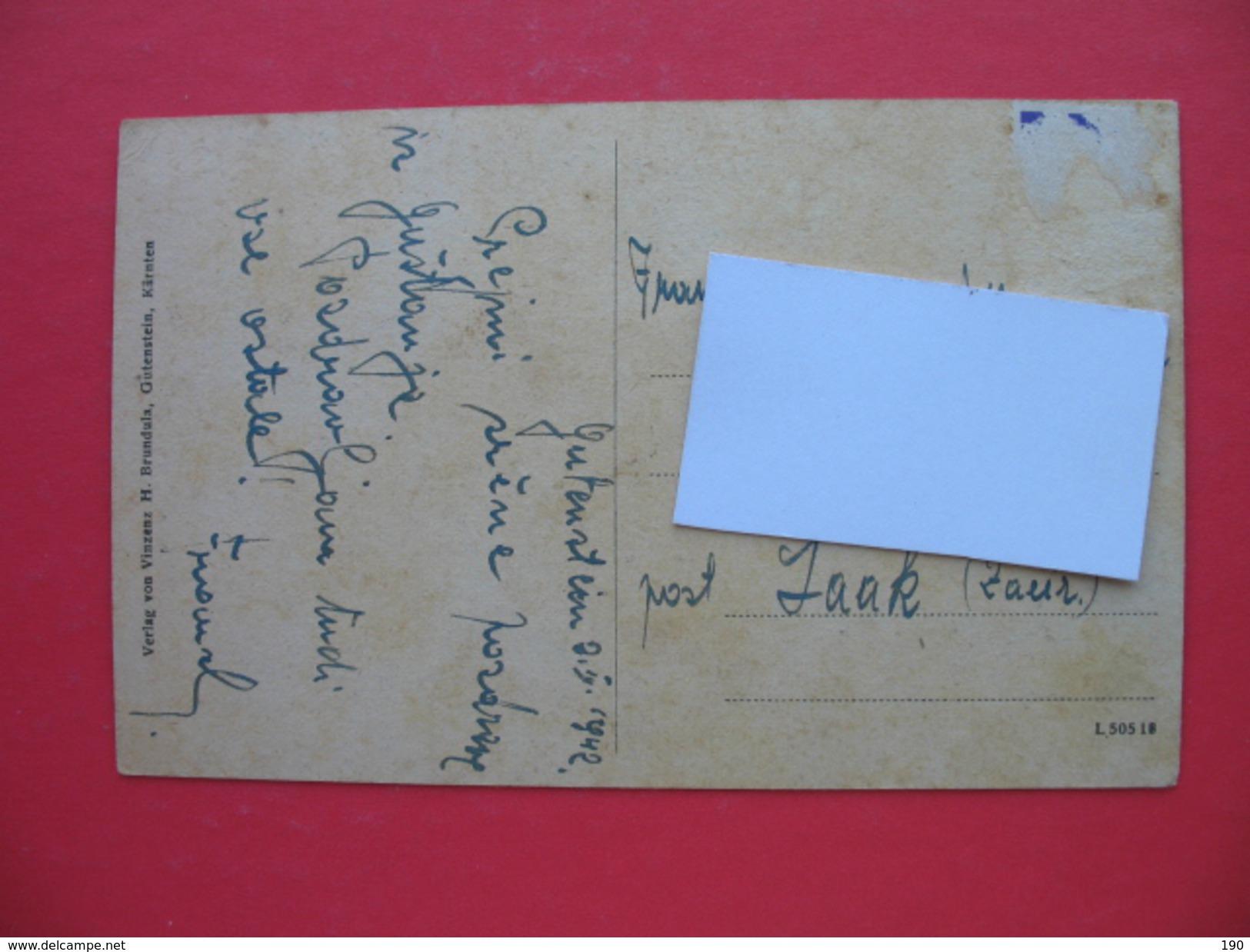 Grafl.von Thurnsches Stahlwerk Streiteben.Post Gutenstein Karnten(Ravne) - Slowenien