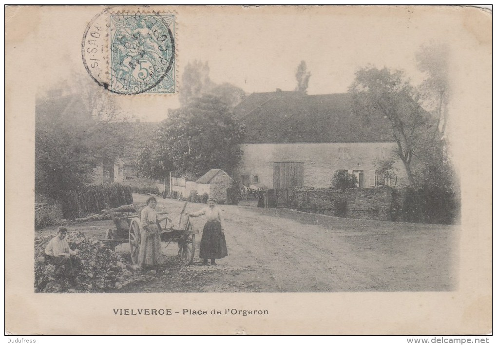 VIRLVERE   PLACE DE L ORGERON - Altri Comuni