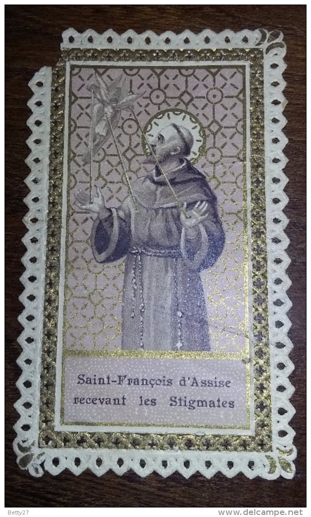 Image Pieuse Religieuse Holy Card  SAINT FRANCOIS D ASSISE  Offert Par La Farine Lactée SALVY - Devotion Images