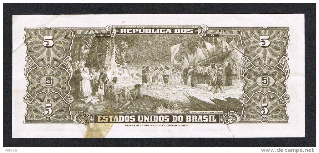 °°° BRAZILIE  5 CRUZEIROS  ESTAMPA 2A  SERIE 2972A - Brésil
