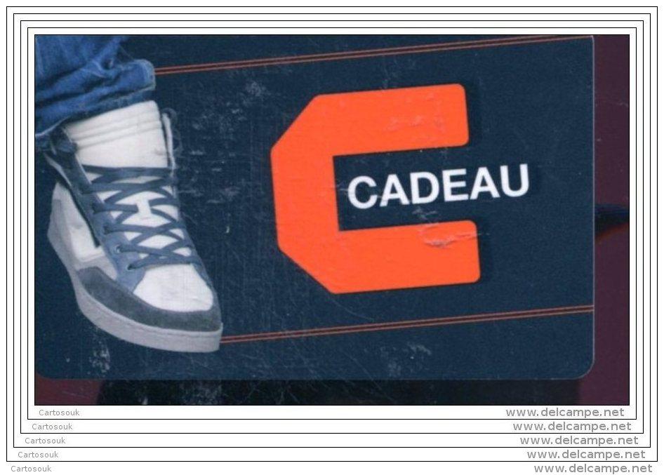 CD3808  CARTE CADEAU  A VOIR  FRANCE - Cartes Cadeaux