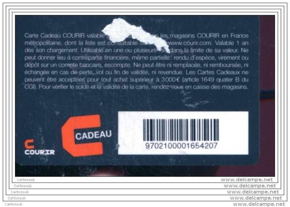 CD3808  CARTE CADEAU  A VOIR  FRANCE - Gift Cards