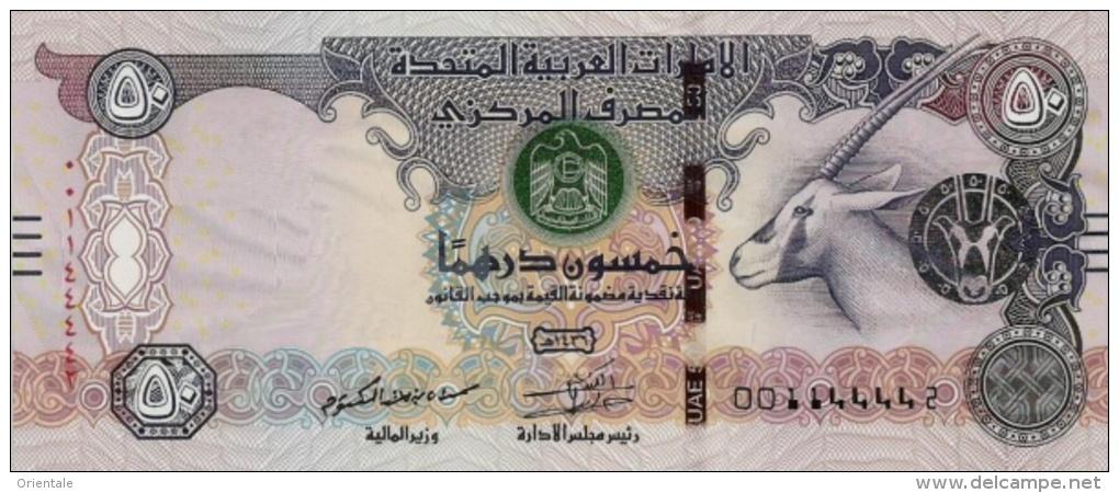 U.A.E. P. 29e 50 D 2014 UNC - Emirats Arabes Unis