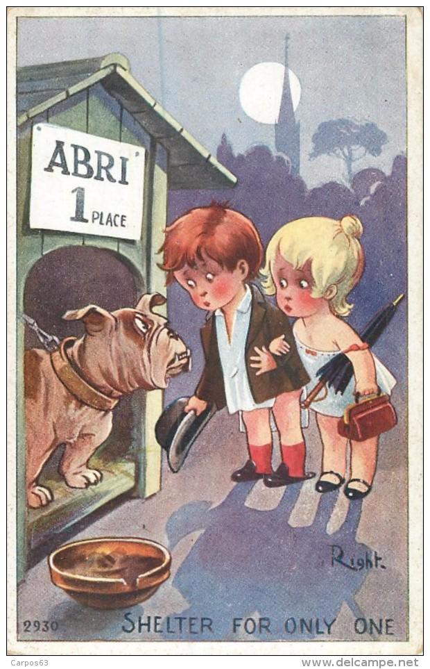 Illustrateur Right Abri 1 Place   Ref 541 - Künstlerkarten