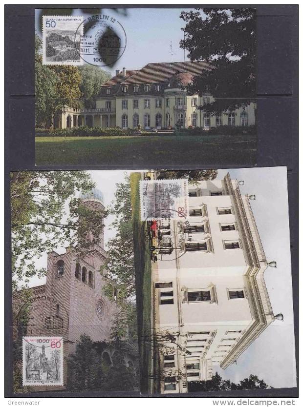 Berlin 1982 Ansichten 3v 3 Maxicards (32095) - Maximum Kaarten