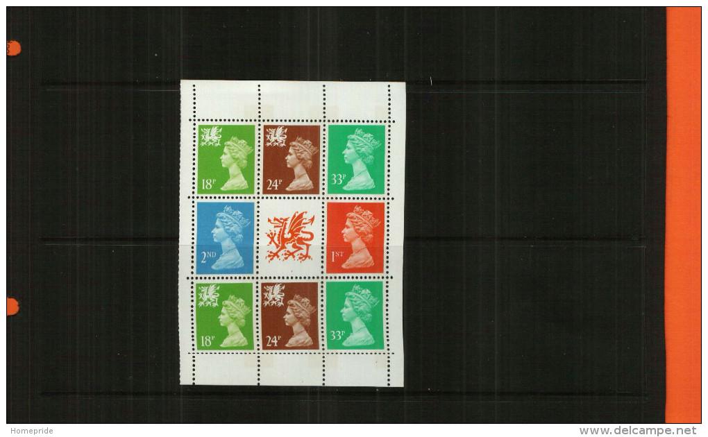 GREAT BRITAIN - QEII - 1992 - BOOKLET PANE - 8 Stamps + Centre Label - MNH - 1952-.... (Elizabeth II)