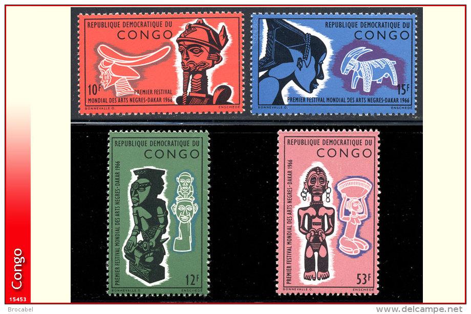 Congo 0613/16** Arts Negres   MNH - République Démocratique Du Congo (1964-71)