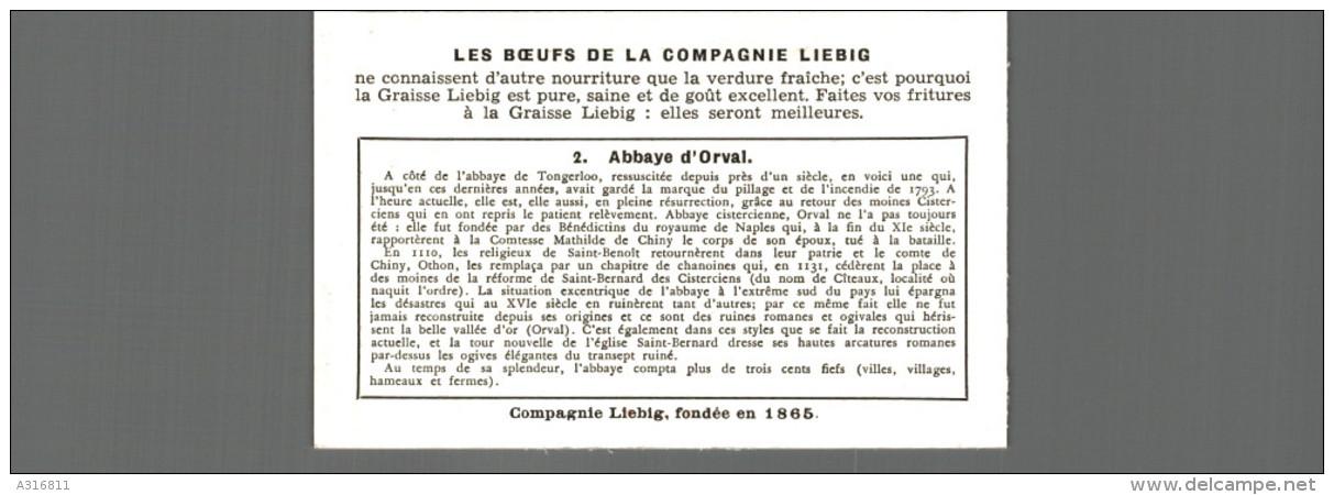 Cromo Liebig ABBAYE CELEBRE DE BELGIQUE  ABBAYE D ORVAL - Liebig