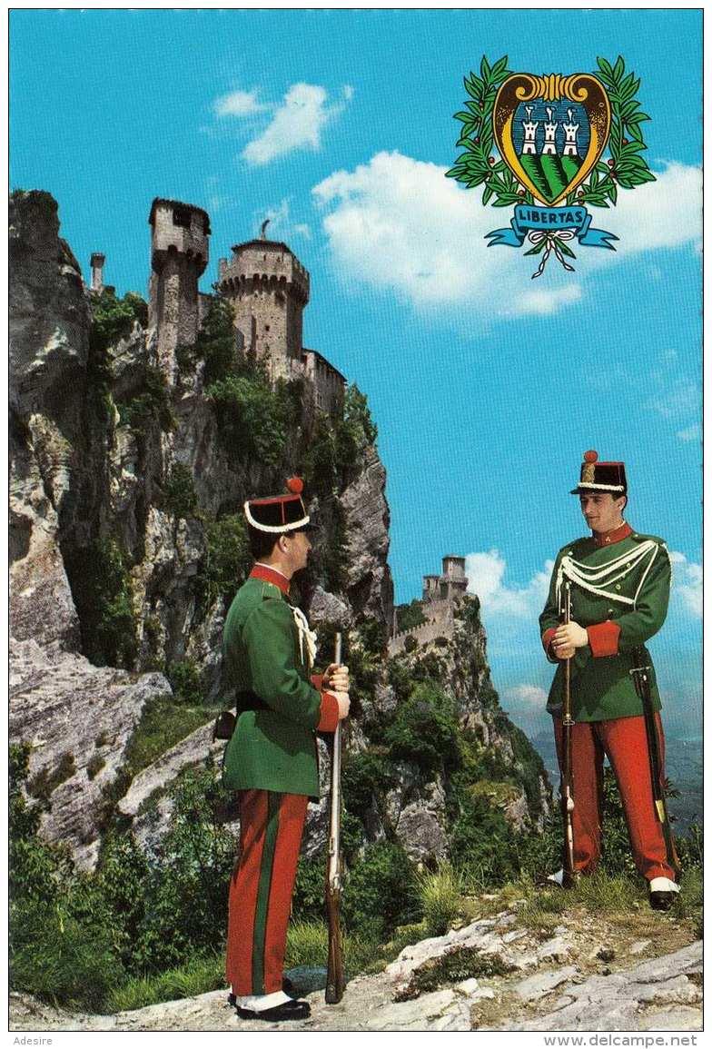 SAN MARINO - Die Burgwache - San Marino