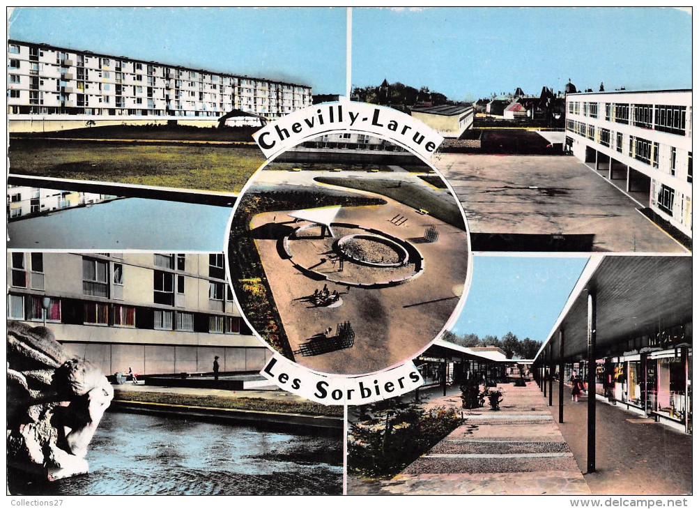 94-CHEVILLY-LARUE- LES SORBIERS MULTIVUE - Chevilly Larue