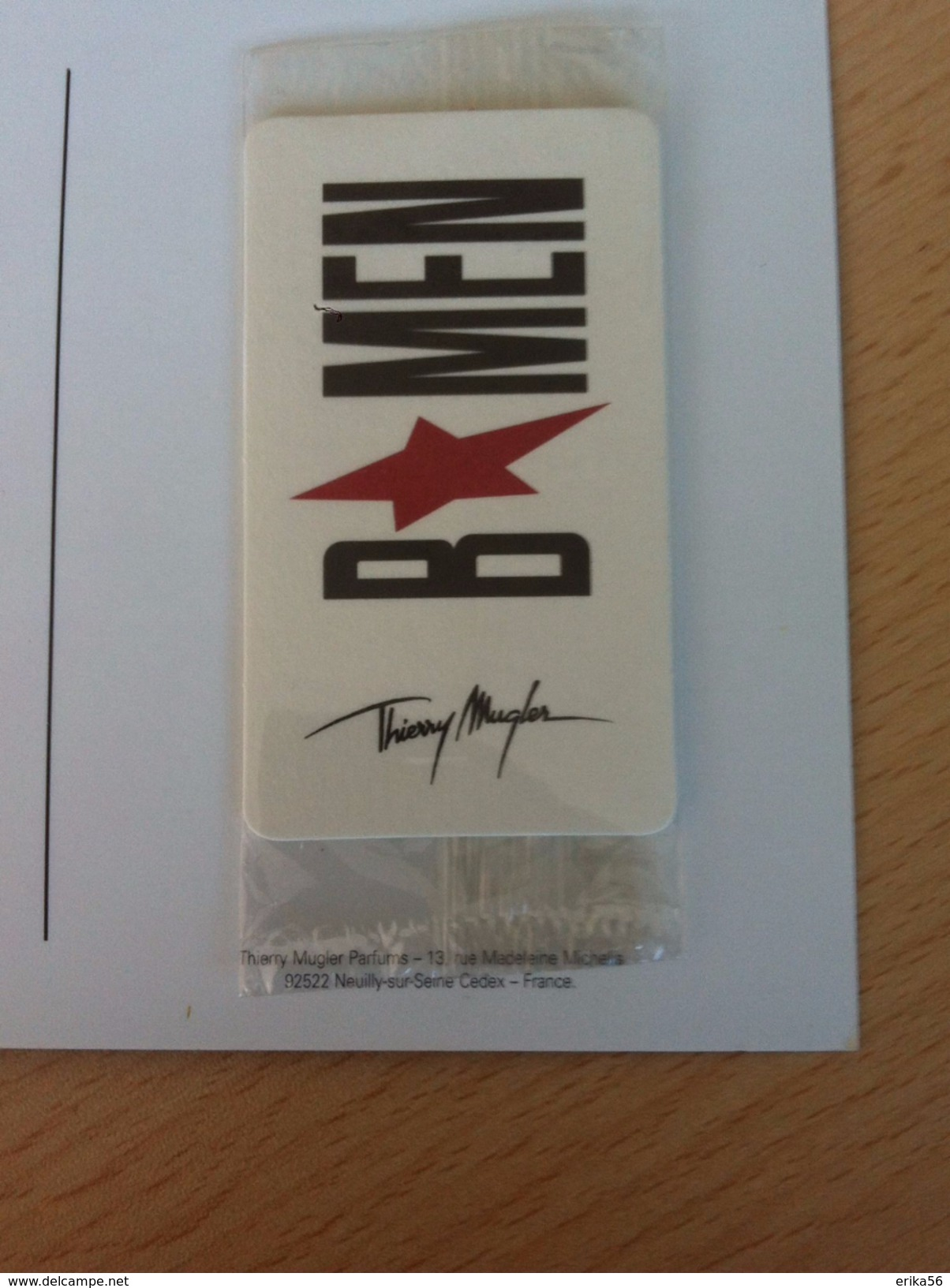 Thierry Mugler - B*Men - Modernas (desde 1961)