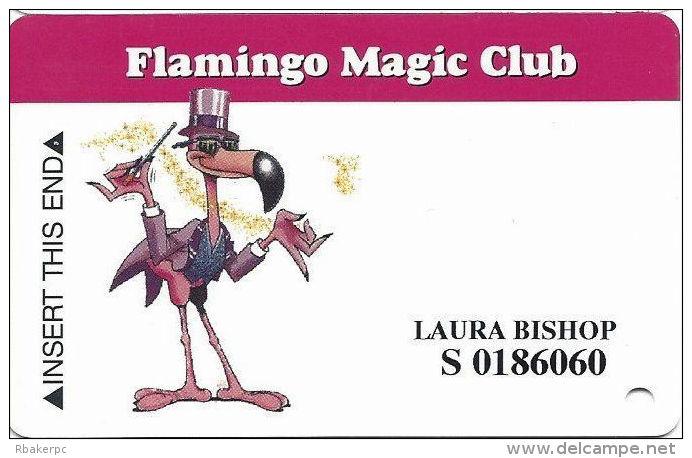 Flamingo Hilton Casino Lauglin, NV - Slot Card - No Mfg Mark Over Mag Stripe - Casino Cards