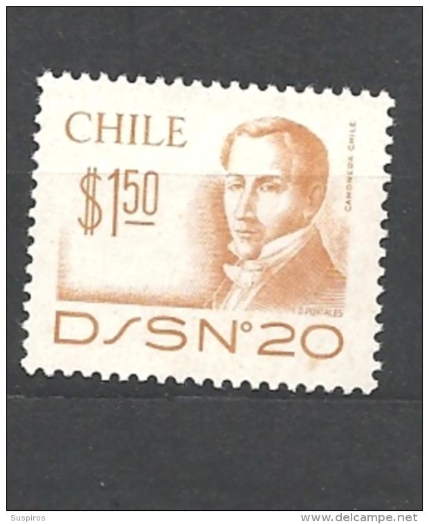 CILE   ( CHILE)  1979 Diego Portales 879 MNH - Chile