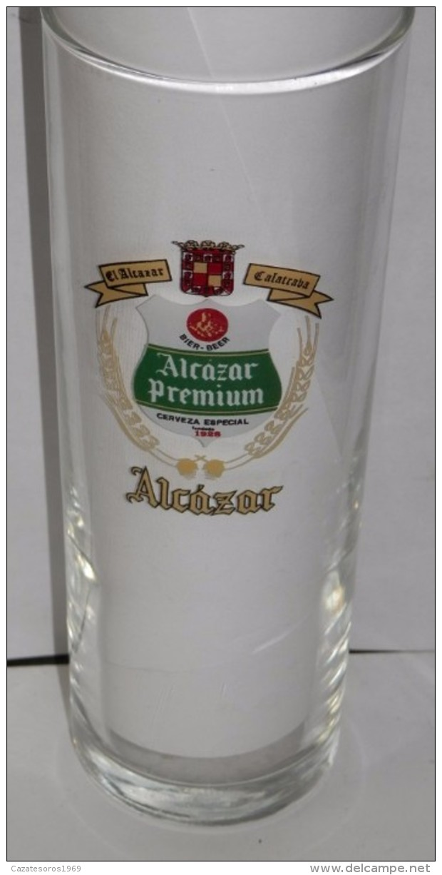 VERRE BIÉRE  ALCAZÁR  - SPAIN - Glazen