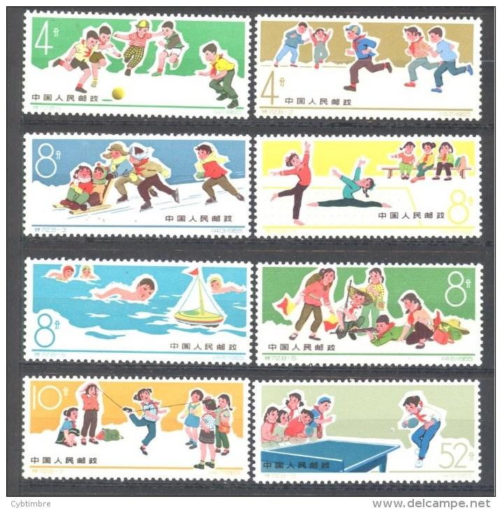 Chine: Yvert Entre N°1673/80; La Serie Compléte - Nuovi