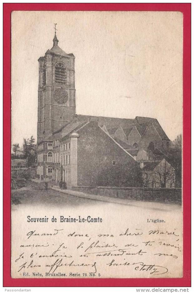 CPA Belgique - Braine Le Comte - Souvenir De Braine Le Comte - Braine-le-Comte