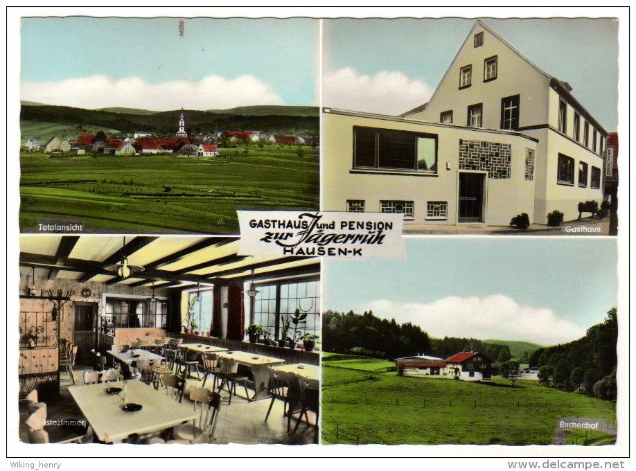 Steinfeld Hausen - Gasthaus Und Pension Zur Jägerruh - Allemagne