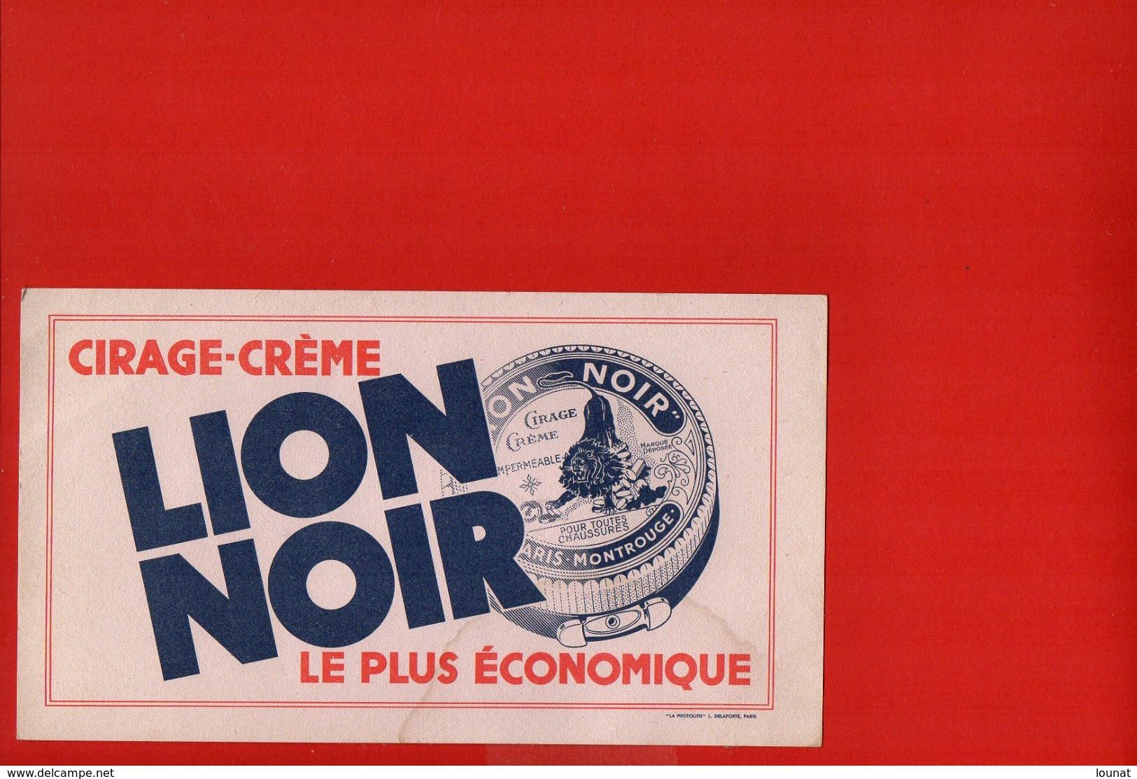 Buvard - Cirage Lion Noir - C