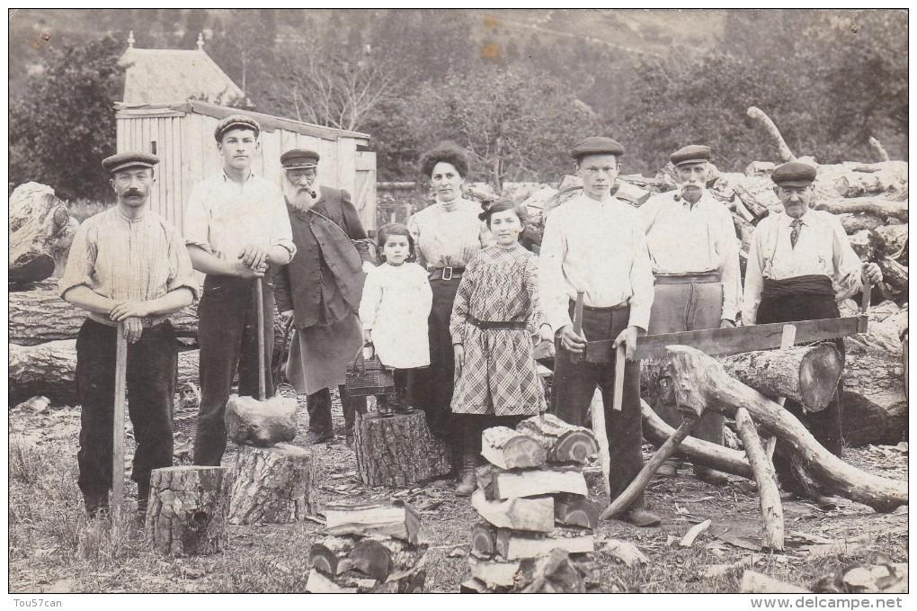 LESSEUX - VOSGES - (88)  -  TRÈS RARE CARTE-PHOTO ANIMÉE. - Autres Communes