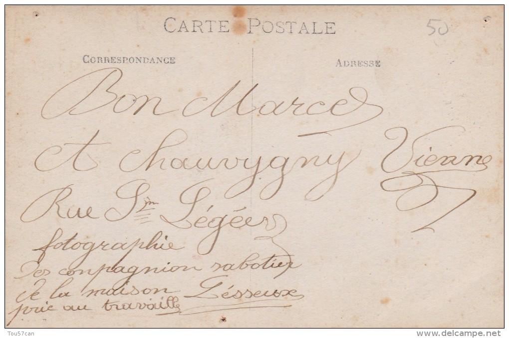 LESSEUX - VOSGES - (88)  -  TRÈS RARE CARTE-PHOTO ANIMÉE. - France