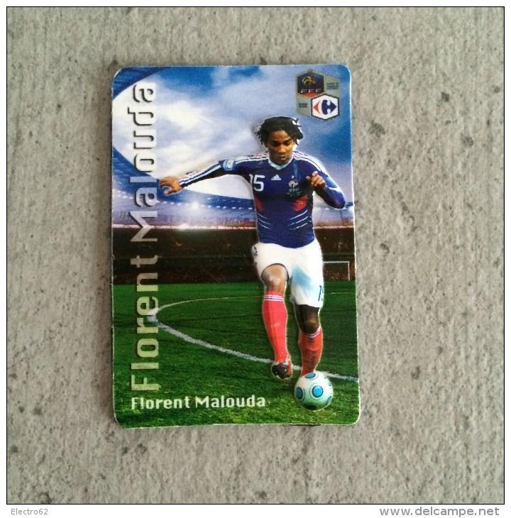 Magnet En Relief Equipe De France De Football 2010, Carrefour Florent Malouda - Sports