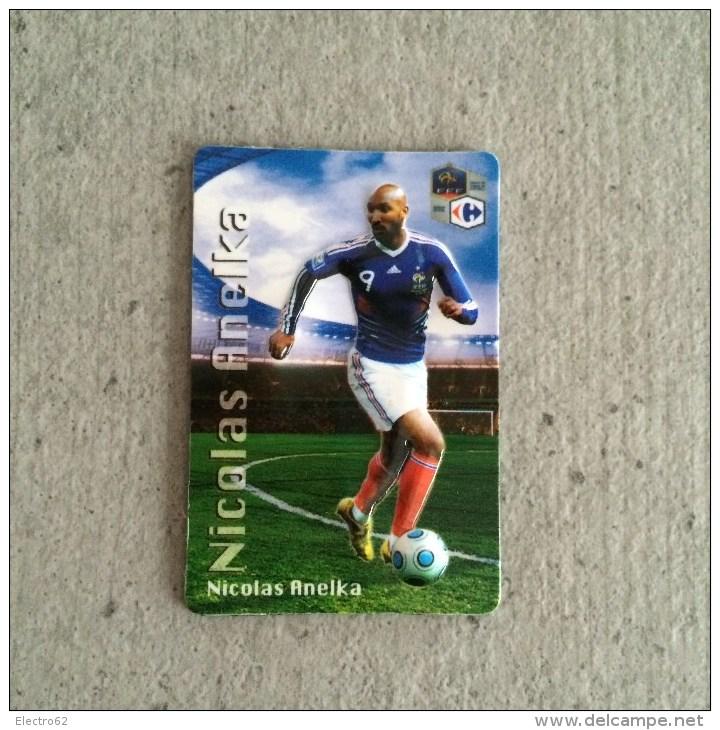 Magnet En Relief Equipe De France De Football 2010, Carrefour Nicolas Anelka - Sports
