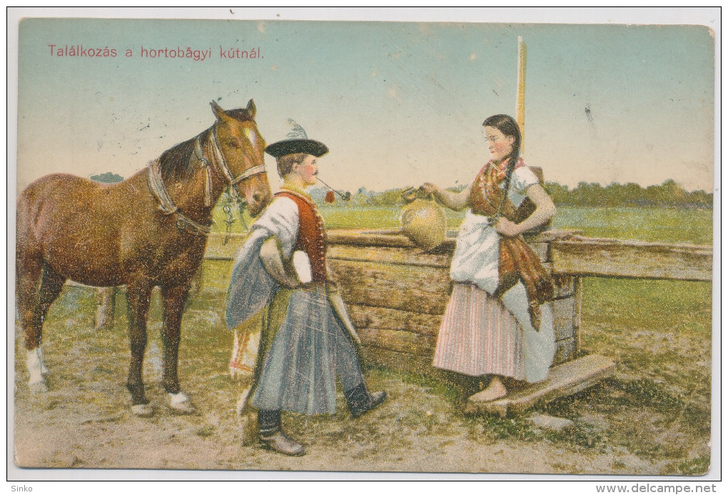 Meeting At Hortobágy's Pump :) - Hungary