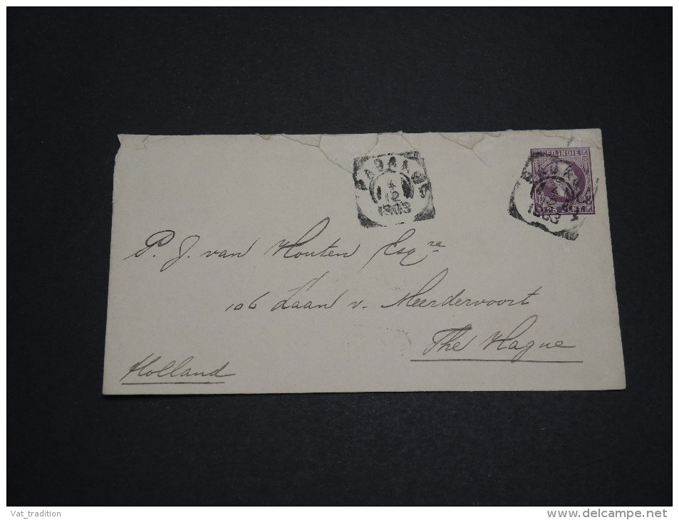 PAYS BAS / INDES - Entier Postal Pour Les Pays Bas En 1903 - A Voir - L 2740 - Indes Néerlandaises