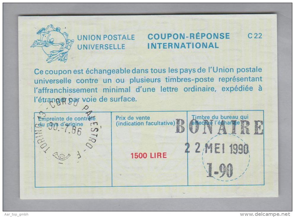Italien Ganzsache Coupon Réponse International 1986-07-30 1500 Lire - 6. 1946-.. Repubblica