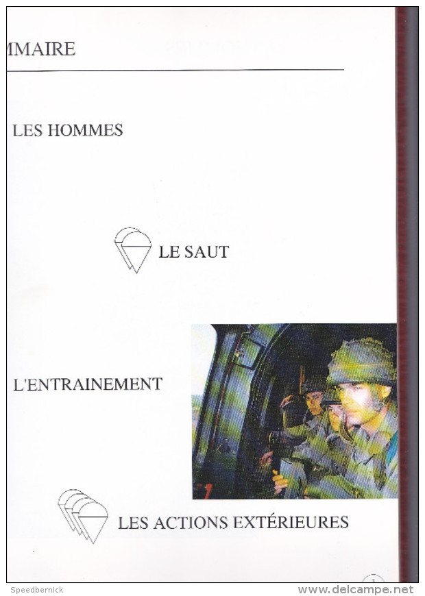 Livre : Parachutistes D'aujourd'hui 1992-1993 -photos De La 11e Division -soldat Armée Militaria Guerre - Français