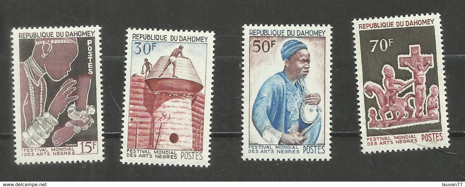 Dahomey N°235 à 238 Neufs** Cote 5.25 Euros - Benin – Dahomey (1960-...)