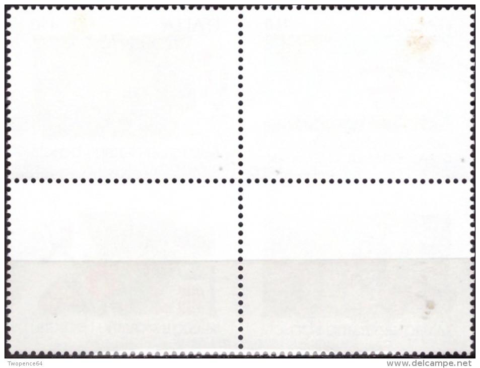 """ITALIA REPUBBLICA - 1984. SERIE COMPLETA """"SALVAGUARDIA DELLA NATURA"""" (S.407) NUOVA* * - 6. 1946-.. Republic"""