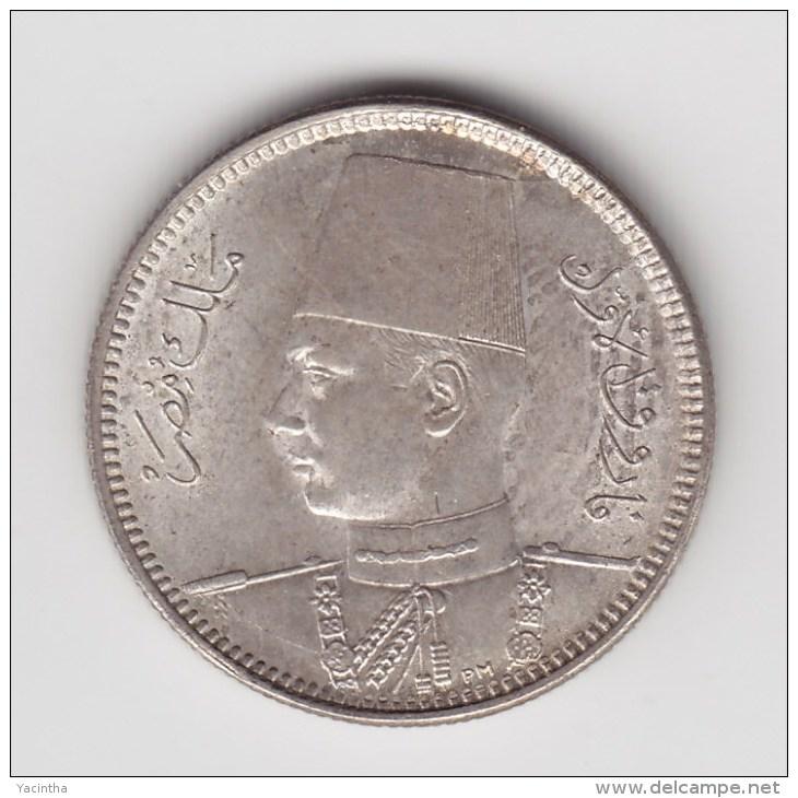 @Y@    Egypte  2 Piaster  1937  (3100) - Egypte