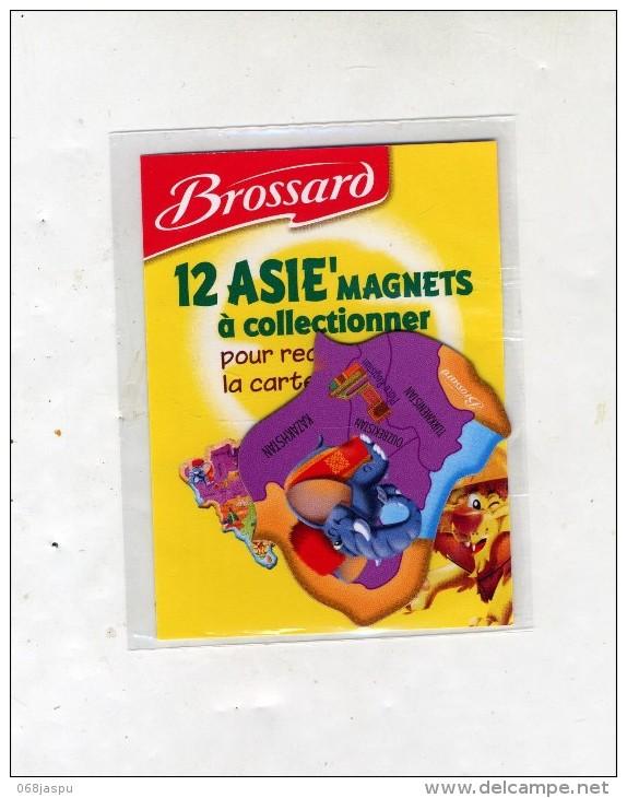 Magnet Savane Brossard Asie Theme Elephant - Animaux & Faune