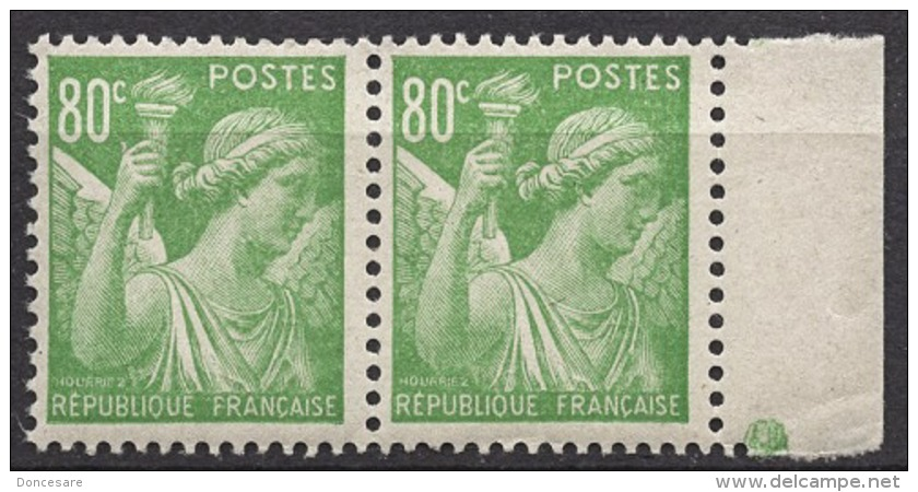 FRANCE 1944 - PAIRE Y.T. N° 649  - NEUFS** FF840 - France