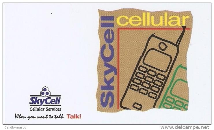 *INDIA - SKYCELL CELLULAR* -  Scheda Per Servizi - India