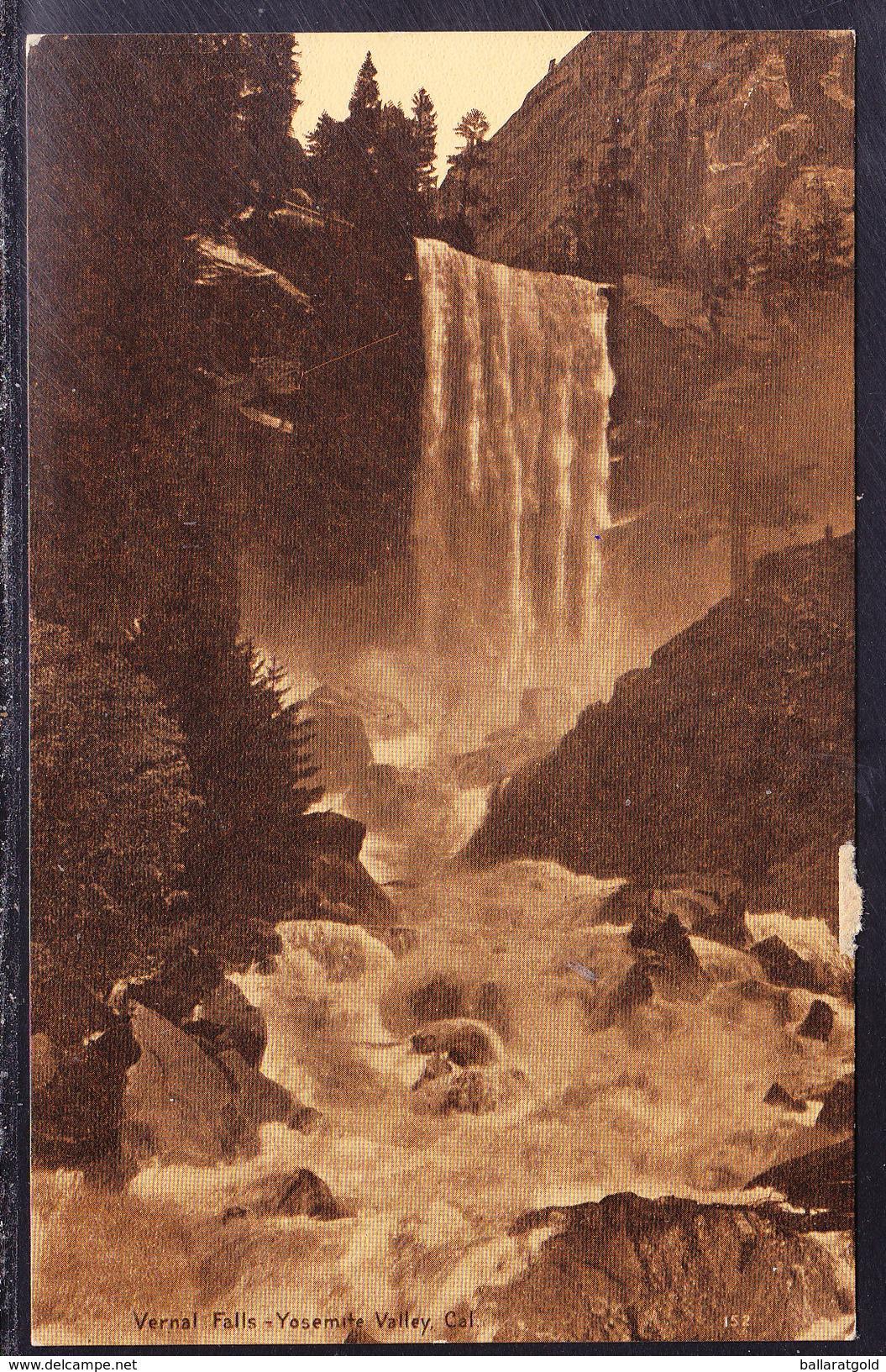 USA C1913 Vernal Falls - Yosemite Valley - Unused - Yosemite